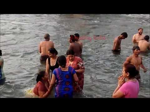 HARIDWAR YATRA - Ganga snan , Open Bath