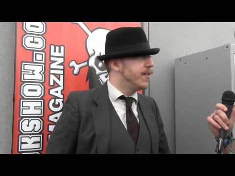 Jamie Lenman Interview Download Festival 2014
