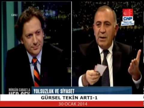 Gürsel Tekin Artı 1 Tv'nin yayın konuğu oldu. ( 30.01.2014)
