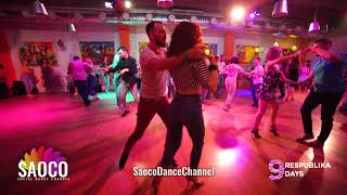 Vsevolod Bogomol and Svetlana Levchenko Salsa Dancing at Respublika Days 9, Thursday 02.05.2019 (SC)