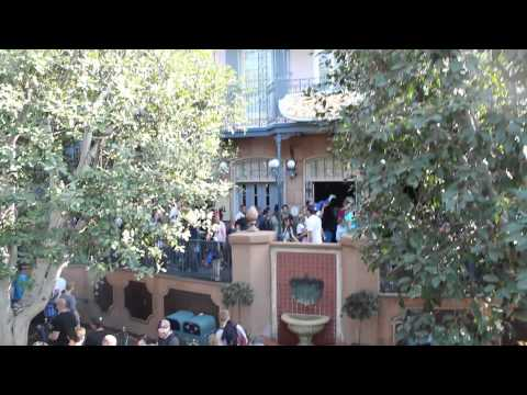 New Orleans Square - Secrets of Pirates of the Caribbean Facade - Disneyland Dream Suite easter egg
