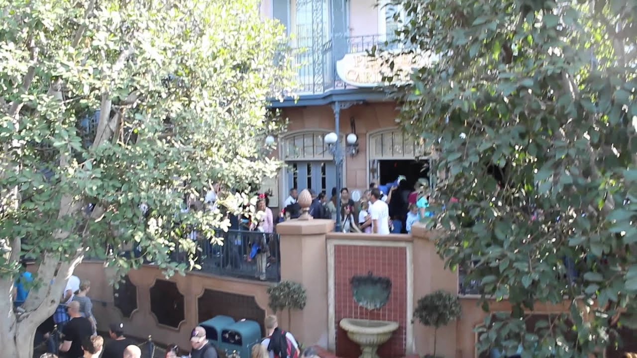 New Orleans Square Secrets Of Pirates The Caribbean Facade Disneyland Dream Suite Easter Egg You
