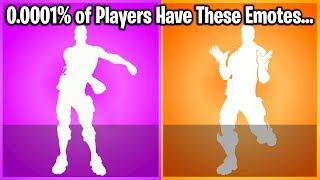 TOP 10 RAREST DANCES/EMOTES IN FORTNITE (#1 Will Shock You) thumbnail