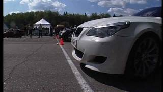 Mercedes CLS55 Kleemann vs BMW M5 Evotech