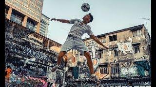 Football Skills in the Streets of BANGKOK