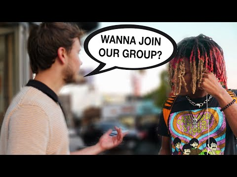 I Turned 4 Strangers into a Rap Group...