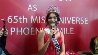 ANTARANEWS - Jadi Miss Phoenix Best Smile 2016, ini komentar Kezia Warouw