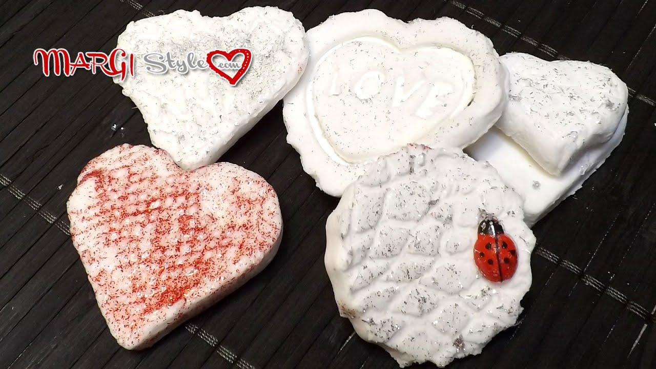 Eccezionale Come realizzare decorazioni in pasta di bicarbonato - YouTube LN46