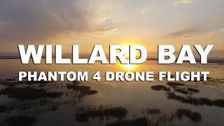 Willard Bay | Drone Flight in Utah