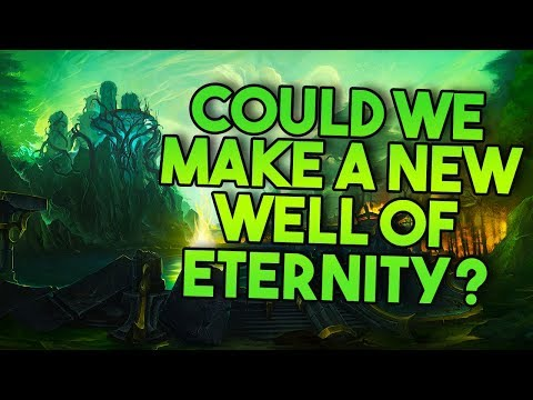 SPOILERS   Creating A New Well of Eternity and Titan Artifacts? [Lore Speculation]