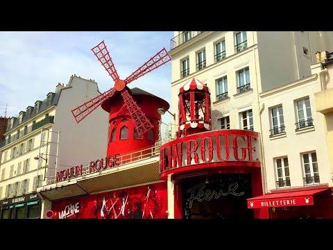PARIS WALK | Moulin Rouge on Boulevard de Clichy | France