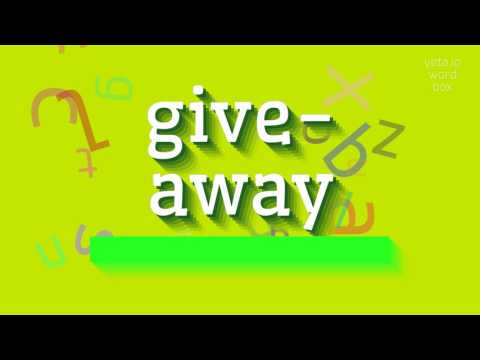 "How to say ""give-away""! (High Quality Voices)"