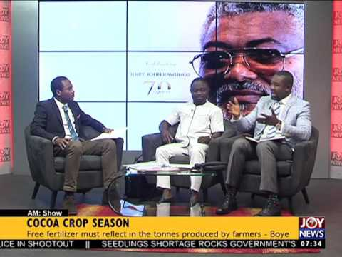 Cocoa Crop Season - AM Talk on Joy News (22-6-17)