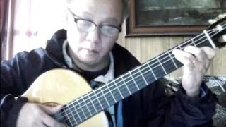 Tình Bơ Vơ (Lam Phương) - Guitar Cover