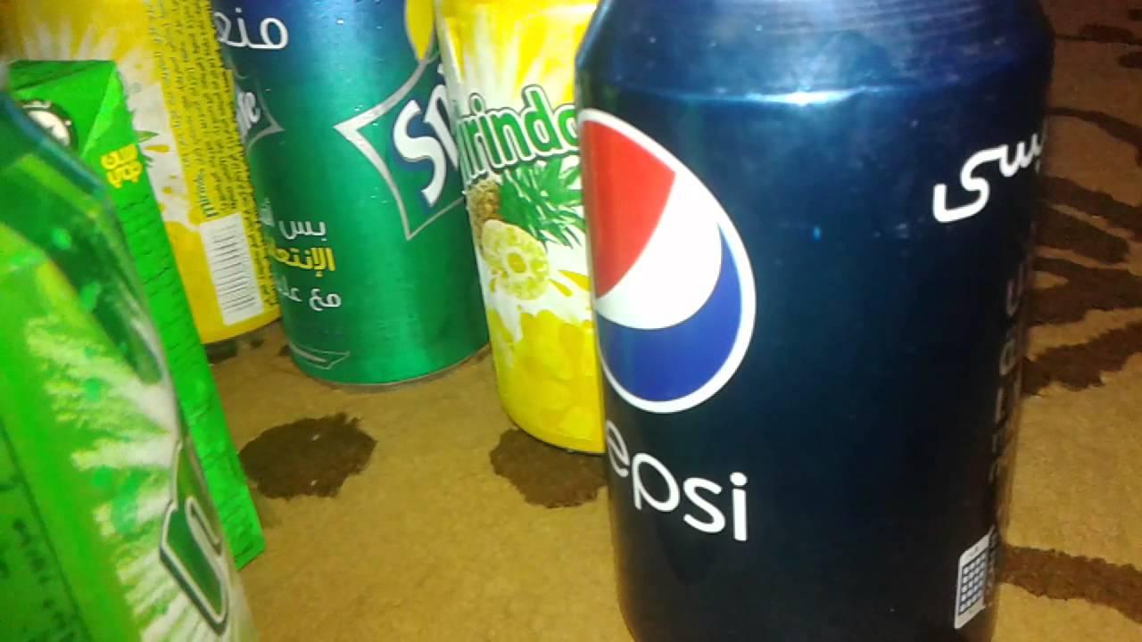 Pepsi marinda San top sprite