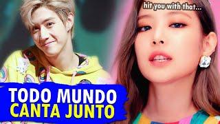 TRECHOS no K-POP que TODO MUNDO CANTA! 🎤🎶