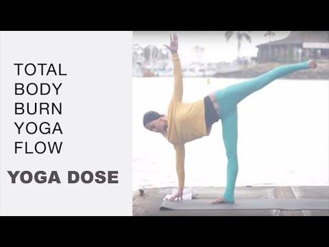 Total Body Yoga Burn Workout - Vinyasa Flow