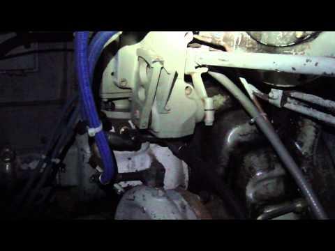 Cold Start:  GP38-2 Locomotive engine startup