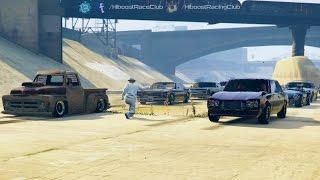 Grand Theft Auto V Online (XB1)   Classic Car Meet Pt.2   Sabre Turbo + Benny