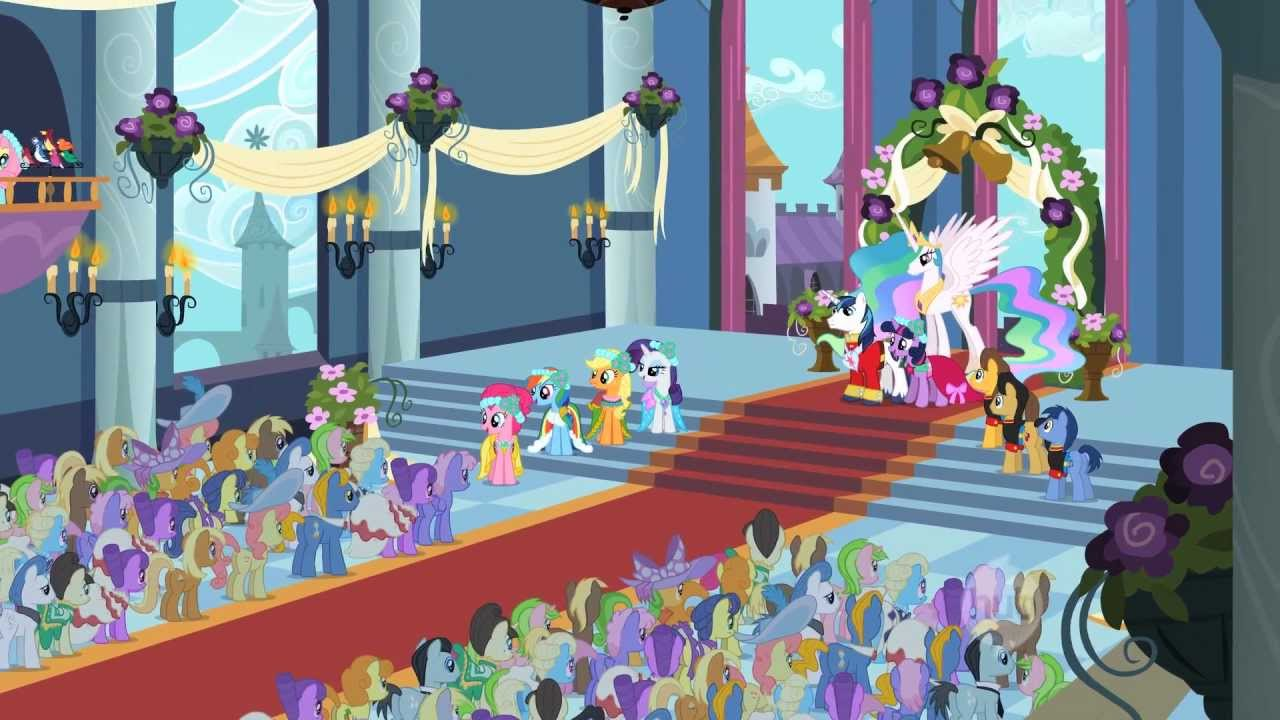 My Little Pony Friendship Is Magic A Canterlot Wedding Part 2 Clip The Hub You