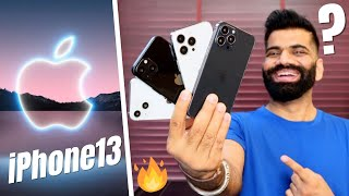 iPhone 13 Series Is Coming - Crazy New Features🔥🔥🔥