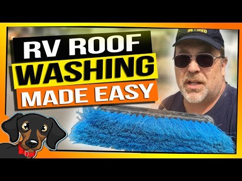 🔴How we cleaned our RV Roof the Simple and easy way - RV Living