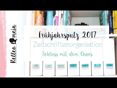 fr hjahrsputz zeitschriften aufbewahrung ordnung tag 11 youtube. Black Bedroom Furniture Sets. Home Design Ideas