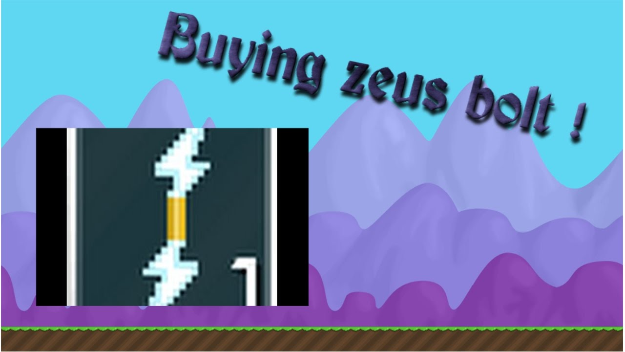 Buying Zeus Lighting Bolt