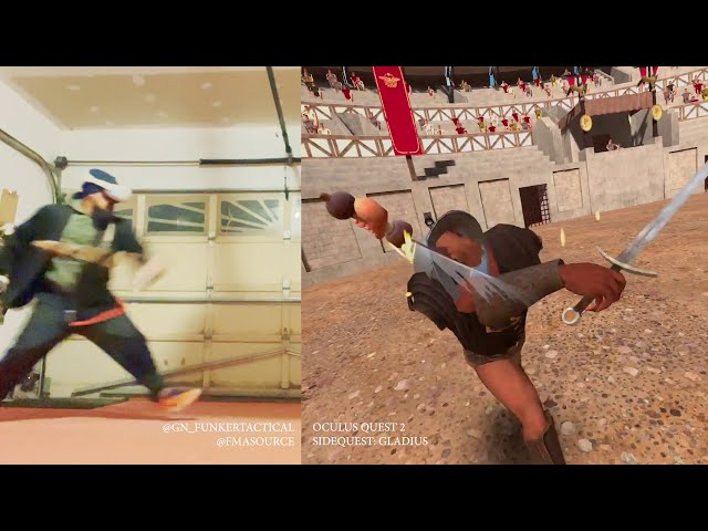 Eskrimador vs Gladiator | My First Look at Gladius for the Oculus Quest 2 was Intense!!