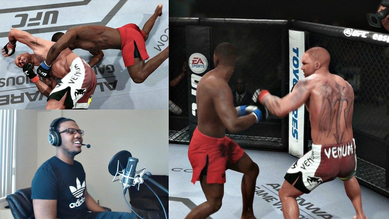 Download EA Sports UFC PS4 Career Mode Gameplay FACECAM - Super Fight vs Jon Jones!! Ep. 23