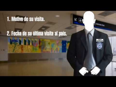 Miami Airport Immigration Process.