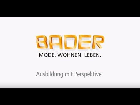 Video: BADER Ausbildung mit Perspektive!