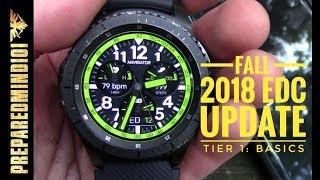 Fall 2018 EDC Update Tier 1 Basics Preparedmind101