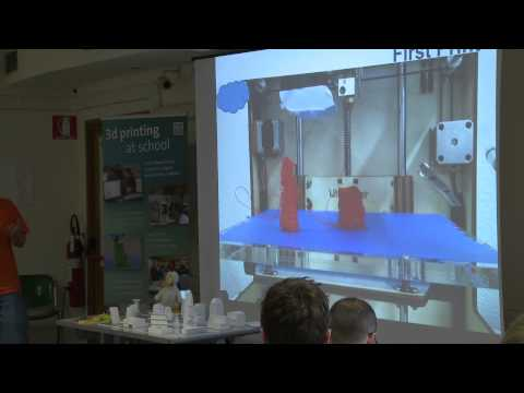 Using 3D printers in schools: the experience of 3D-Drucken