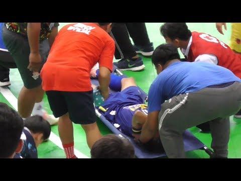 Detik-Detik Ahmad Khoeron Tak Sadarkan Diri SKN FC Kebumen Vs Pegasus FC Sambas