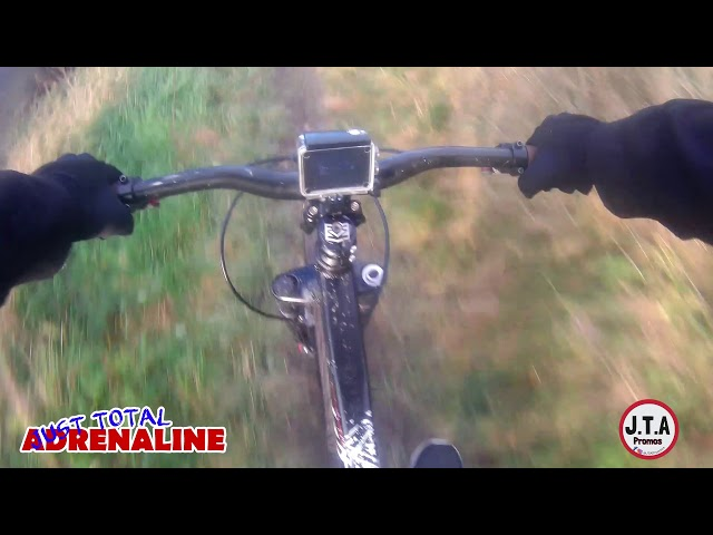 Dirt Track Bike GoPro Body Cam  Footage - Millers Path, Hawick, Scotland by JTAPromos.net