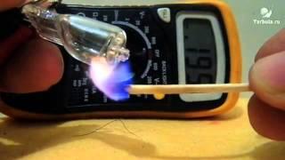 как сделать термометр из лампочки