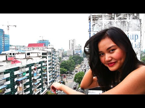 Exploring Yangon's Downtown Streets