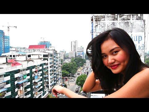 Exploring Yangon's Downtown Streets