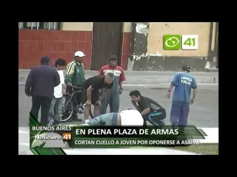 Cortan la yugular a joven por resistirse a asalto en Víctor Larco - Trujillo