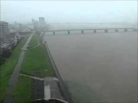 Typhoon Halong 2, Aug 9th 2014