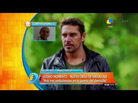 Confuso episodio entre Matías Alé y su hermano: ambulancias y policías armados en la casa