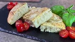 Focaccia, leckeres italienisches Fladenbrot, von Michelle Ghofrani, Melting Pot Kitchen Kochschule