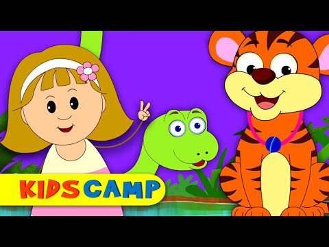 Jungle Song | Sounds of the Animals | Nursery Rhymes Collection for Children by KidsCamp