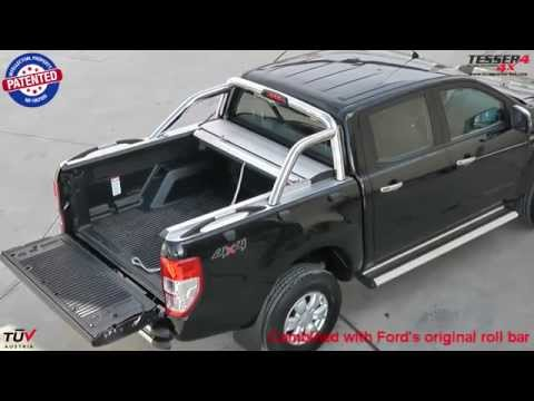 At www.accessories-4x4.com: Ford Ranger 2012 Limited XLT 4x4 off road mudding aluminum roller lid