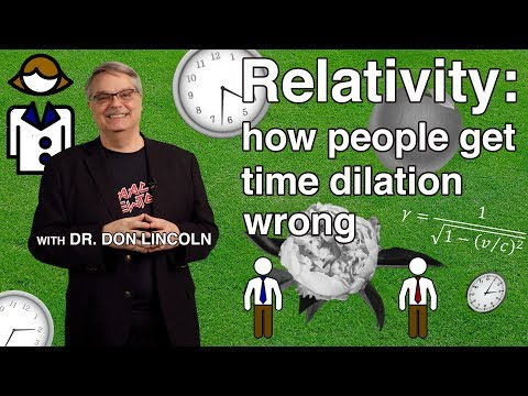 Relativity: how people get time dilation wrong