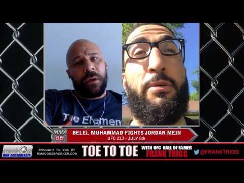Frank Trigg Interviews UFC 213's Belal Muhammad (Part 1)