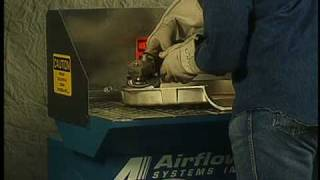 Airflow Systems, Inc. Alh-1 Downdraft Table
