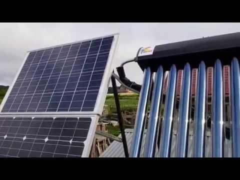 Солнечный коллектор для нагрева воды. Сборка. Первые впечатления