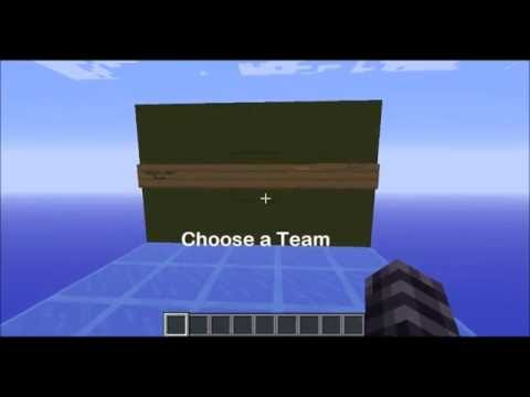 how to make clickable signs in minecraft